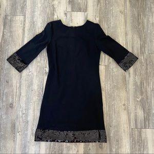 JB by Julie Brown Black Sequin Dress